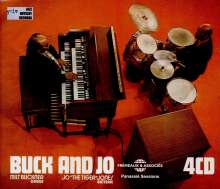 Milt Buckner & Jo Jones: Buck & Jo: The Complete Panassié Sessions, 4 CDs