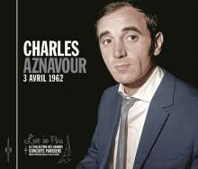Charles Aznavour (1924-2018): Live In Paris: 3 Avril 1962, CD