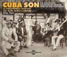 Cuba Son: Les Enregistrements Fondateurs Du Son Afro-Cubain 1926 - 1962, 3 CDs