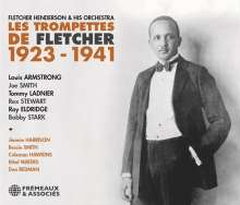 HENDERSON FLETCHER & His Orchestra: Les Trompettes De Fletcher 1923-1941, 3 CDs