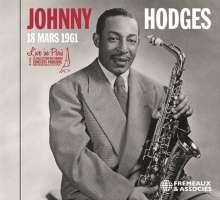 Johnny Hodges (1907-1970): Live In Paris: 18 Mars 1961, CD