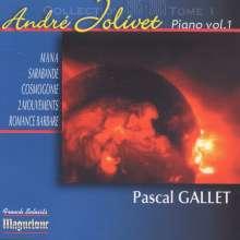 Andre Jolivet (1905-1974): Klavierwerke Vol.1, CD