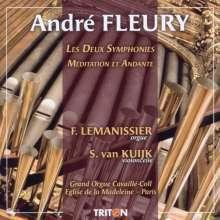 Andre Fleury (1903-1995): Orgelsymphonien Nr.1 & 2, CD