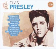 All You Need Is: Elvis Presley, 3 CDs