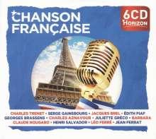 Chanson Française  (Horizon-Edition), 6 CDs