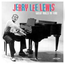 Jerry Lee Lewis: Great Balls Of Fire (180g), LP