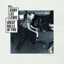 Jerry Lee Lewis: Great Balls Of Fire - Music Legends (remastered) (180g), LP