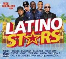 Latino Stars 2018, 3 CDs