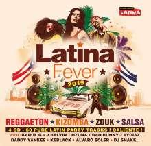 Latina Fever 2019, 4 CDs