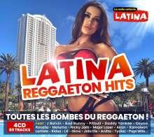 Latina Reggaeton Hits, 4 CDs