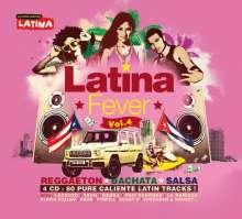 Latina Fever 4, 4 CDs