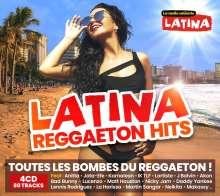 Latina Reggaeton Hits 2021, 4 CDs