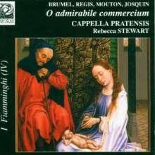 Weihnachtsmotetten des 15.Jh. - O admirabile commercium, CD