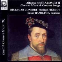 Alfonso Ferrabosco II (1578-1628): Consort Music, CD