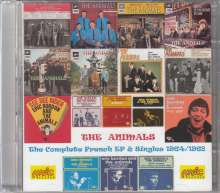 The Animals: Complete French EP & Singles 1964 - 1968, 2 CDs