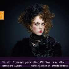 "Antonio Vivaldi (1678-1741): Violinkonzerte ""per il Castello"" RV 257,273,367,371,389,390, CD"