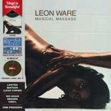 Leon Ware: Musical Massage (180g) (Limited-Edition) (Brown Vinyl), LP