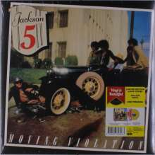 The Jacksons (aka Jackson 5): Moving Violation (Limited-Edition) (Yellow Vinyl), LP