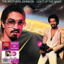 The Brothers Johnson: Light Up The Night (Limited-Edition) (Pink Vinyl), LP