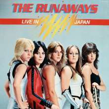 The Runaways: Live In Japan (lim.farbiges Vinyl), LP