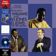 Joe Williams: Presenting Joe Williams And Thad Jones/Mel Lewis Jazz Orchestra (Limited Edition)(Dark Blue Vinyl), LP