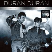 Duran Duran: Thanksgiving Live: The Ultra Chrome Latex & Steel Tour (Limited Edition) (Clear & Silver Vinyl), 2 LPs