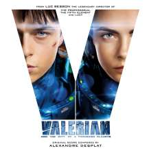 Filmmusik: Valerian And The City Of A Thousand Planets, 2 CDs