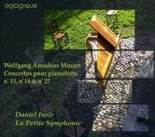 Wolfgang Amadeus Mozart (1756-1791): Klavierkonzerte Nr.13,14,27, CD