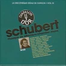 Franz Schubert (1797-1828): Kammermusik, 14 CDs