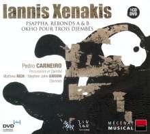 Iannis Xenakis (1922-2001): Okho für 3 Djembes, CD