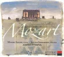 Wolfgang Amadeus Mozart (1756-1791): Violinkonzerte Nr.2 & 3, CD