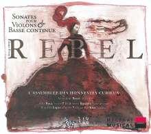 Jean-Fery Rebel (1666-1747): Sonaten für Violine & Bc, CD