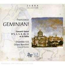 Francesco Geminiani (1687-1762): 6 Concerti grossi (nach Corellis op.5), CD