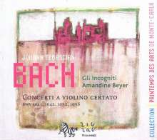 Johann Sebastian Bach (1685-1750): Violinkonzerte BWV 1041,1042,1052,1056, CD