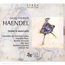 Georg Friedrich Händel (1685-1759): Oboensonaten, CD