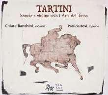 Giuseppe Tartini (1692-1770): Sonaten für Violine solo Nr.2,13,17,24, CD