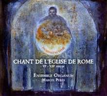 Chant De L'Eglise de Rome (6.-13.Jh.), CD