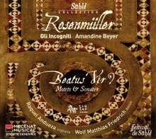 """Johann Rosenmüller (1619-1684): Geistliche Musik - """"Beatus Vir?"""", CD"""