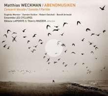 Matthias Weckmann (1619-1674): Abendmusiken (Concerti Vocale,Sonate,Partite), CD