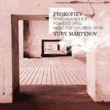 Serge Prokofieff (1891-1953): Klaviersonaten Nr.5 & 6, CD