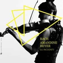 Johann Sebastian Bach (1685-1750): Violinkonzerte BWV 1041,1042,1052,1056, 4 CDs