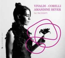 Amandine Beyer - Vivaldi & Corelli, 4 CDs