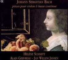 Johann Sebastian Bach (1685-1750): Violinsonaten BWV 1023 & 1024, CD