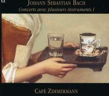 Johann Sebastian Bach (1685-1750): Concerts avec plusieurs instruments Vol.1, CD