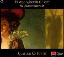 Francois-Joseph Gossec (1734-1829): Streichquartette op.15 Nr.1-6, CD