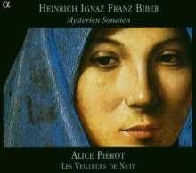 Heinrich Ignaz Biber (1644-1704): Rosenkranz-(Mysterien-)Sonaten Nr.1-16, 2 CDs