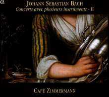 Johann Sebastian Bach (1685-1750): Concerts avec plusieurs instruments Vol.2, CD