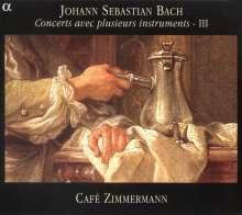 Johann Sebastian Bach (1685-1750): Concerts avec plusieurs instruments Vol.3, CD
