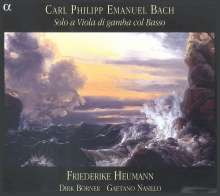 Carl Philipp Emanuel Bach (1714-1788): Gambensonaten Wq.88,136,137, CD
