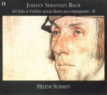 Johann Sebastian Bach (1685-1750): Sonaten für Violine  BWV 1003 & 1005, CD